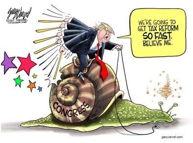 Cartoonist Gary Varvel: Trump's tax reform promise